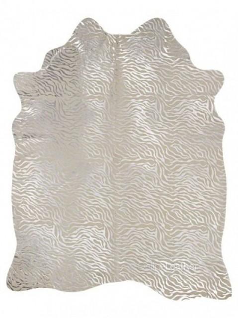 Baby Zebra Prata fundo Branco