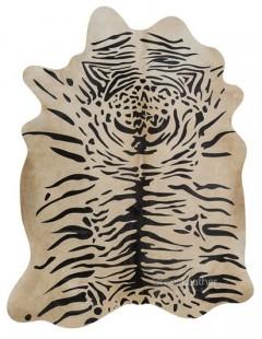 Tigre Java fundo Bege